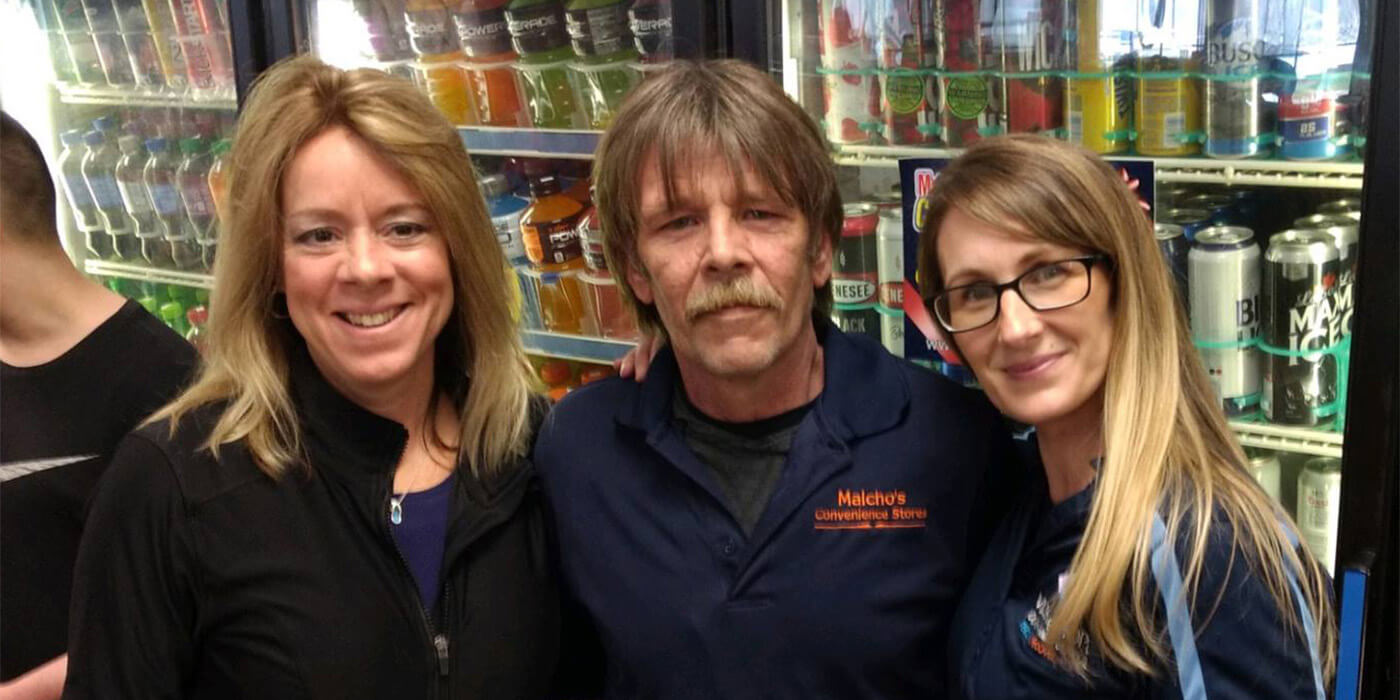Project Sticker Shock with store manager Bill O'Dell