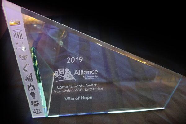 2019 Alliance Commitments Award