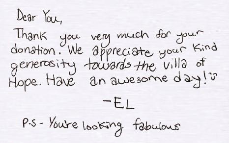 You're looking fabulous