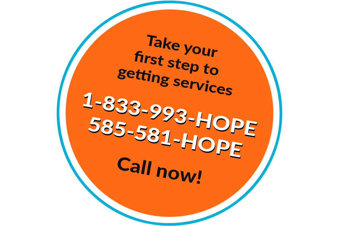 Call 585-581-HOPE for services