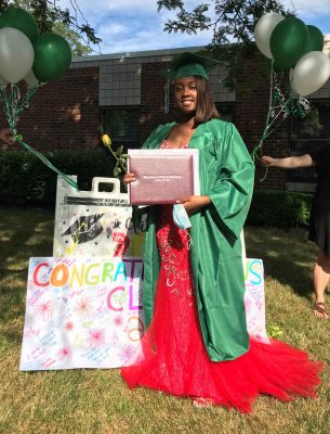 Seven, a Villa of Hope School graduate from 2020